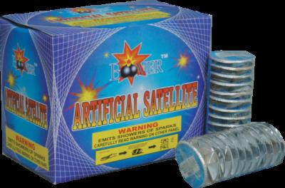 Winged Item Artificial Satellite