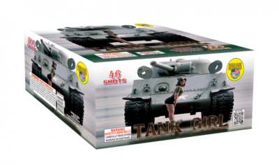 Multi Shot 500 gram-TANK GIRL