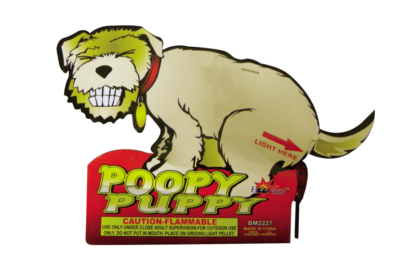 Novelties Poopy Puppy