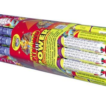 Roman Candles Pyramid of Power
