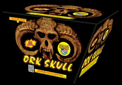 Multi Shot 500 Gram Ork Skull
