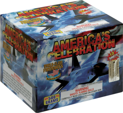 Multi Shot-500 gram Americas Celebration
