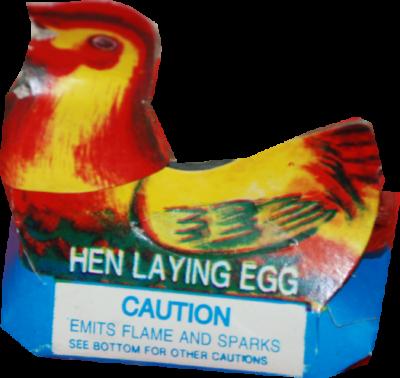 Novelties Hen Laying Eggs