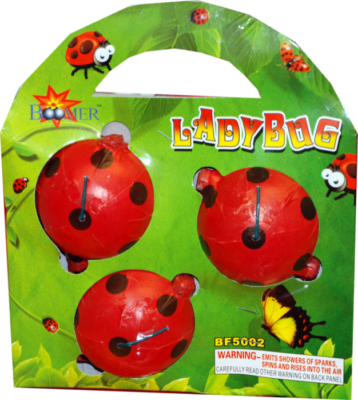 Spinners Lady Bugs